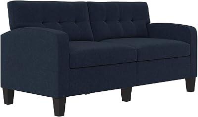 Dorel Living Zakari, Blue Sofa