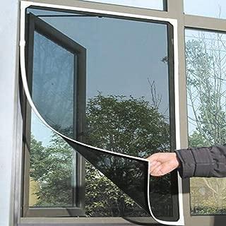 Level Curtain Mesh compensazione Fai da Te Regolabile Autoadesivo Schermo Finestra Invisibile con Nastro Adesivo