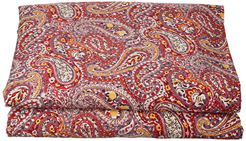 Essix Drap de lit, Satin de Coton, Carmin, 240x300 cm