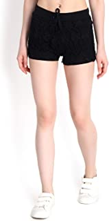 KOTTY Women's Regular Fit Cotton Shorts