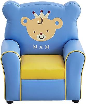 Roscloud@ Childrens Armchair Cute Cartoon Kindergarten Game Chair Sofa Seat L55cmW41cmH60cm Comfortable and Soft