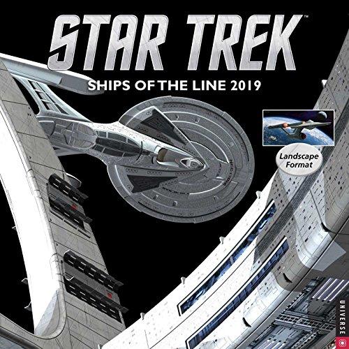 Star Trek Ships of the Line 2019 Wall Calendar