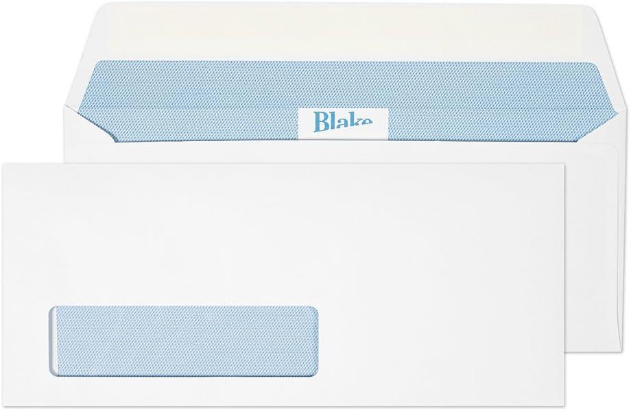NO WINDOW ENVELOPES PEEL /& SEAL 120 gsm 5000 X WHITE C6 24h 114 X 162 mm