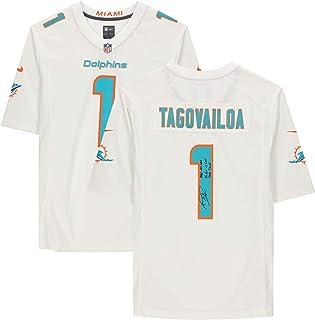 Fu/ßballtrikot Rugby-T-Shirt Fan-Legende Trikot Miami Dolphins Tua Tagovailoa 1# American Football Jersey kurz/ärmelig