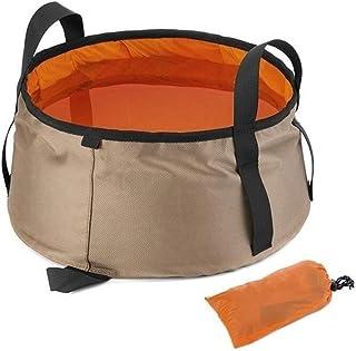 Lavage portable multifonctions Rafle Bowl Lavabo seau pêche bassin pliant bain de pieds Sink panier à linge bassin Pliable...