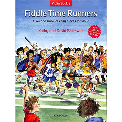Oxford University Fiddle Time Runners (Band 2) Incluye CD: Piezas Ligeras para los violines [Notas Musicales] Kathy Blackwell