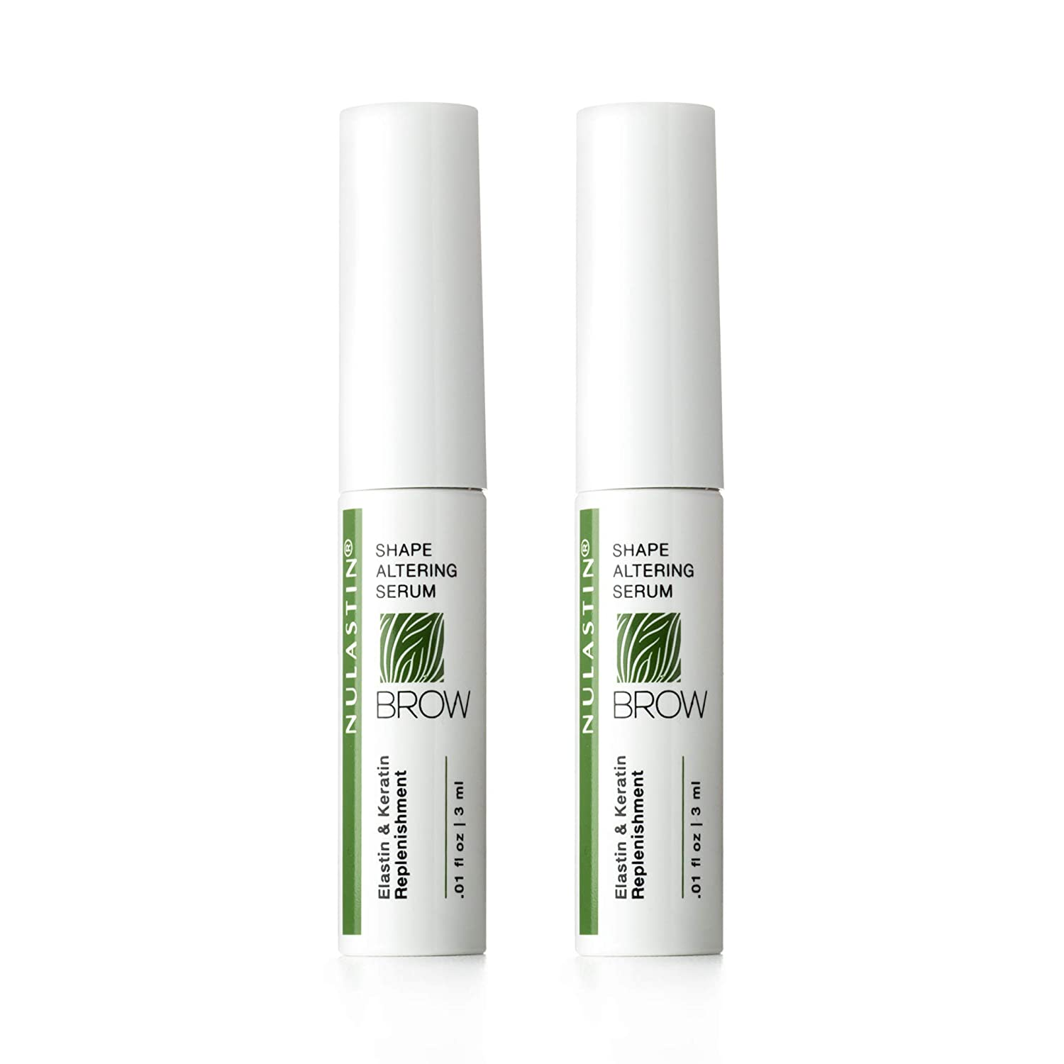 NULASTIN Outlet SALE - BROW 2-PACK online shop Keracyte Complex with Elastin