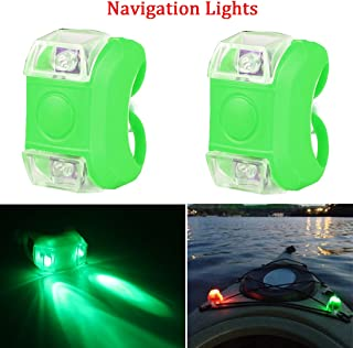 Botepon Marine Boat Bow Led Navigation Lights Stern Lights Emergency Lights for Boat Pontoon Kayak Dinghy Yacht Vessel Catamaran