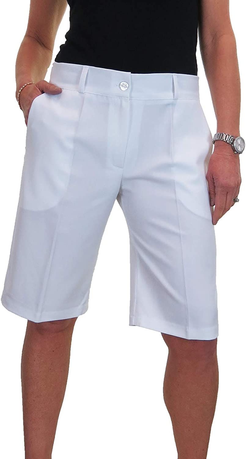 ICE Ladies Smart supreme Max 41% OFF Washable Shorts Evening Tailored Day