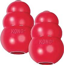 KONG Classic Medium Dog Toy Red Medium Pack of 2