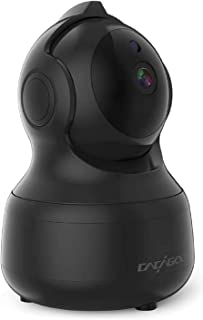 Cámara IP WiFi 1080P CACAG00,Cámara de Vigilancia Interior Inalámbrico 2.4G,Almacenamiento en la Nube,Audio bidireccional,detección de Movimiento con Alarma,visión Nocturna