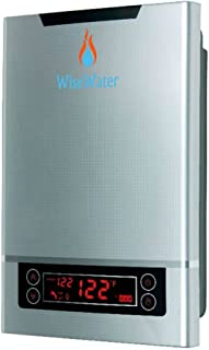 """WiseWater Tankless Water Heater Electric 27kW 3/4""""NPT for Domestic Hot Water Heating in Kitchens, Bathrooms, Apartments, Cabins"""