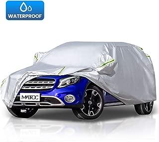 MATCC Funda para coche Exterior del Coche Impermeable 210T