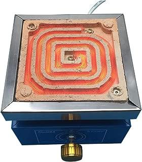 Br/ûleur universel Haute puissance et Temp/érature YUEWO Plaque chauffante /électrique de laboratoire avec Contr/ôle de temp/érature r/églable 1000W