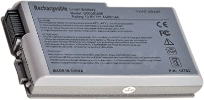 4400mAh Notebook Laprop Akku Batterie f r Dell Latitude D505 D510 D520 D600 D610 C12