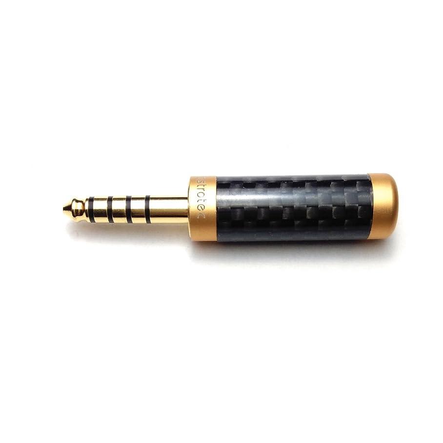 暗記する端チョップAstrotec AT-P02 2.5mm 4極 バランス(メス) → 4.4mm 5極バランス(オス) 変換プラグ【国内正規品】