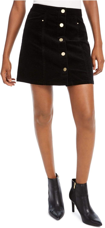 Maison Jules Womens Black Short A-Line Skirt Size 0