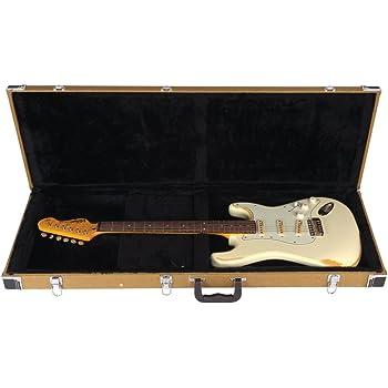 Kinsman TWDE5 - Estuche para guitarra eléctrica (acabado de tweed ...