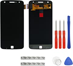 swark AMOLED Display Compatible with Motorola Moto Z Play Droid XT1635-01/02 Digitizer Touch Screen Assembly Replacement (Black) + Tools