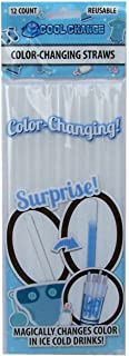 Baby Gender Reveal Blue - Color Changing Straws