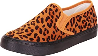 Cambridge Select Women's Round Toe Stretch Slip-On Flatform Fashion Sneaker