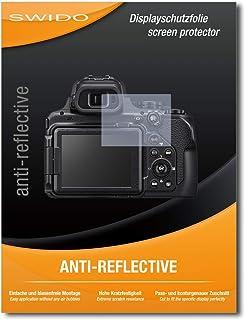 SWIDO® Protector de Pantalla para Nikon Coolpix P1000 [Anti-Reflex] [3 Piezas] Antirreflectante Mate Anti-Arañazos Anti-Huella Dactilar - Película Protectora