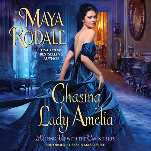 Chasing Lady Amelia audiobook cover art