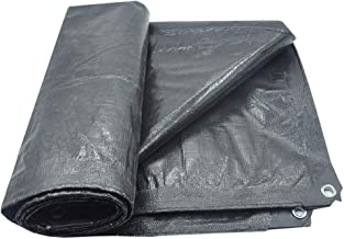 Lixiong Afdekzeil, waterdicht, voor buiten, zonwering, stof, waterdicht, dikte 0,38 mm, condooms, scheurvast, metalen koor...