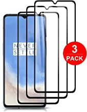 [3-Pack] MMDcase for Oneplus 7T Screen Protector,Tempered Glass [Anti-Scratch][Bubble-Free] 9H Hardness Ultra Slim Compatible with Oneplus 7T