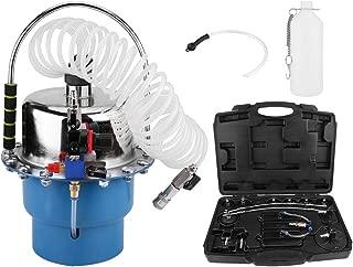 Qiilu Professional Power Brake Bleeder Kit, Air Pressure Pneumatic Brake Bleeding Tool and Clutch Bleeder Valve System Set