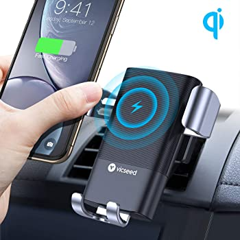 Wireless Charger Auto Lüftung Qi Ladestation 2 In 1: Amazon