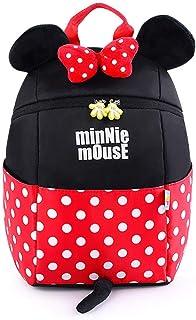 Mochila Escolar Mochila Mickey Bonita Mochila para niños de 1 a 3 años.