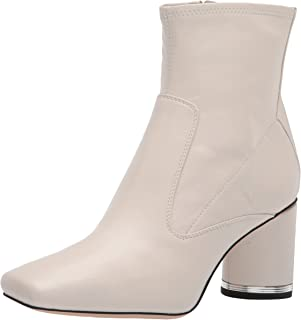 Franco Sarto Women's Pisabooty Ankle Boot, Putty, 5
