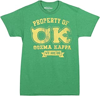 Monster's University Property of Oozma Kappa Adult T-Shirt