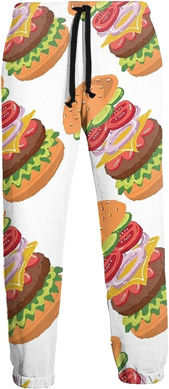 Active Sweats Jogger Pants Cucumber Beef Onion Running Joggers Casual Sweatpants for Men Women