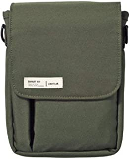 LIHIT LAB Belt Bag, Olive, 7.1 x 5.1 Inches (A7574-22)