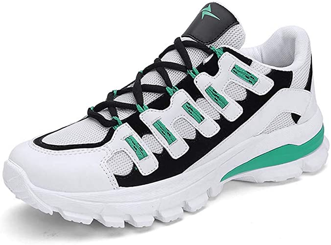 Baskets Hommes Chaussures de Sport, Chaussures de Course, Chaussures de Course, Chaussures de Course, Chaussures de Montagne, Fitness,vert,40EU