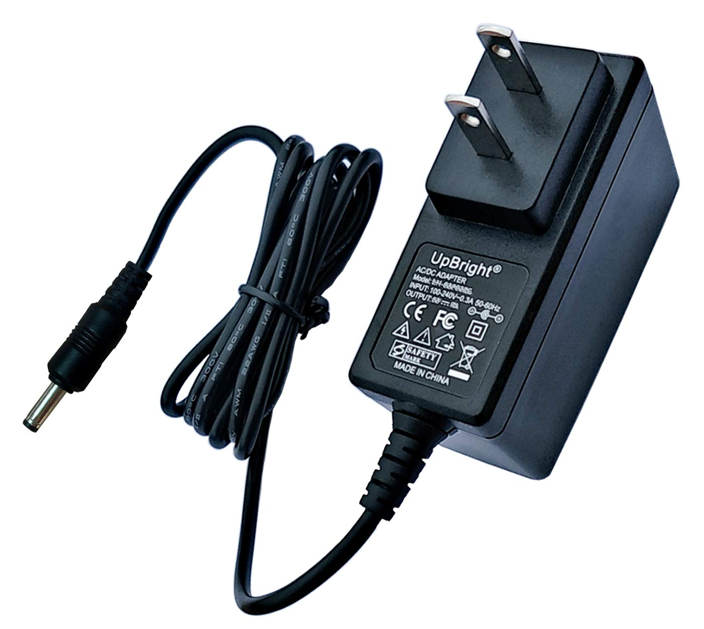 1A AC//DC Wall Power Charger Adapter Cord For Velocity Micro Cruz T105 Tablet PC