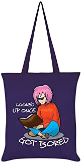 Grindstore Looked Up Once Got Bored Tote Bag