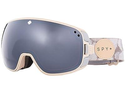 Spy Optic Bravo (Spy + Helen Schettini Hd Plus Bronze w/ Silver Spectra Mirror) Snow Goggles