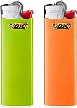 BiC Slim Lighters Blister (Multicolour) - Pack of 2