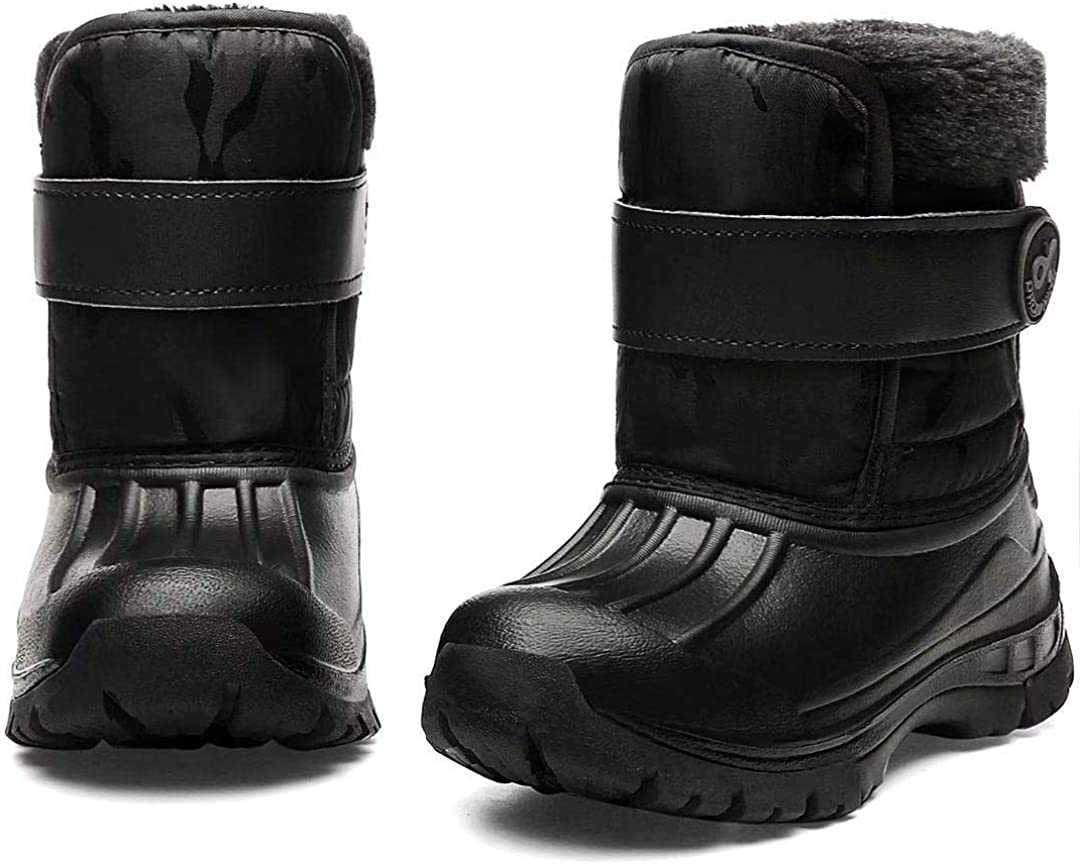 Toddler Snow Boots Boys Girls 2021 autumn and winter new Cold Lightweight Waterproof Weat security