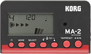 KORG KO-MA2RD MA-2 Digital Metronome with Reference Pitch, Red
