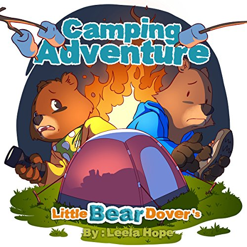 Books for Kids: Little Bear Dover's Camping Adventure Titelbild