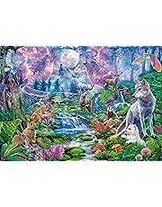 Clementoni 33549 Bosdieren in maanlicht High Quality Collection 3000 stukjes puzzel voor volwassenen en kinderen vanaf 14 jaar