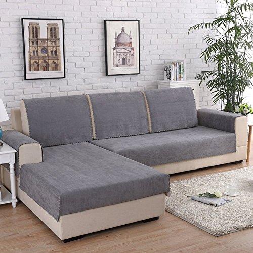 Jonist Funda Impermeable para sofá, Antideslizante, Impermeable, Resistente a Las Manchas, de Varios tamaños, para sofá, Funda Protectora para Muebles, a 90x180cm (35x71inch)