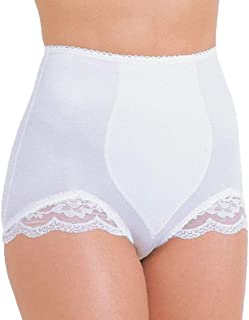 Women's V-Leg Panty - White - M