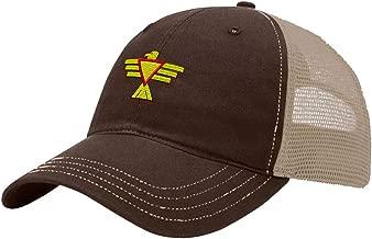 Custom Trucker Hat Richardson Thunderbird Embroidery Design Cotton Soft Mesh Cap