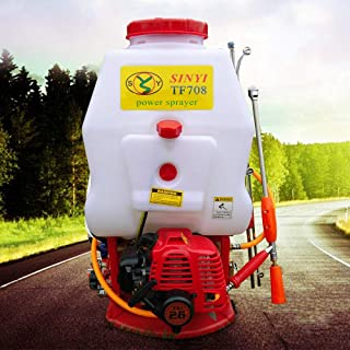 petrol engine sprayer, 20 L, garden sprayer, water sprayer, salt sprayer, backpack pump action pressure sprayer.