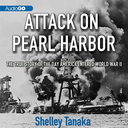 Attack on Pearl Harbor audiobook cover art